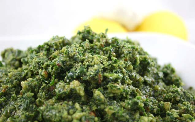 Kale Pesto – Sage Garden Project